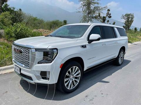 GMC Yukon Denali usado (2021) color Blanco precio $3,650,000