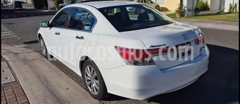 Honda Accord EX-L 2.4L usado (2012) color Blanco Marfil precio $85,000