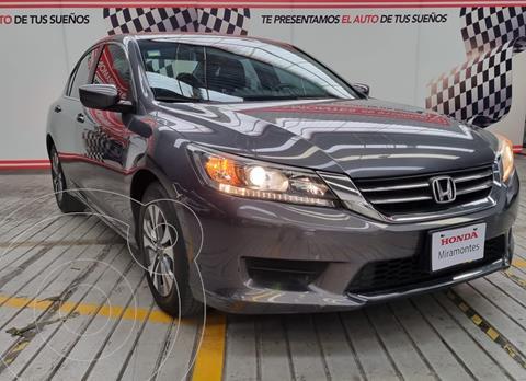 Honda Accord LX  usado (2013) color Acero financiado en mensualidades(enganche $107,500 mensualidades desde $3,888)