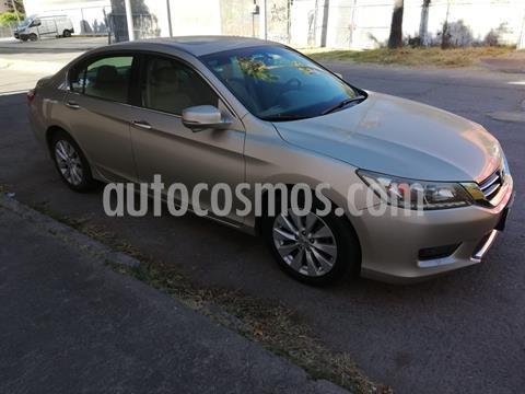 Honda Accord EXL V6 usado (2014) color Champagne precio $225,000