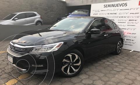 Honda Accord EX-L 3.5L V6 usado (2017) color Negro precio $299,000