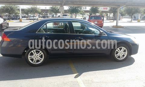 Honda Accord EX 2.4L usado (2007) color Azul precio $79,000