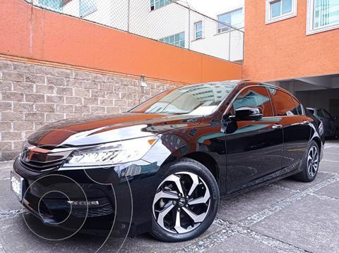 Honda Accord EXL V6 usado (2017) color Negro Cristal precio $325,000