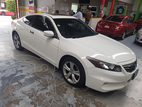 Honda Accord Coupe EX 3.5L usado (2011) color Blanco precio $170,000