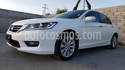 Honda Accord EXL usado (2014) color Blanco precio $210,000