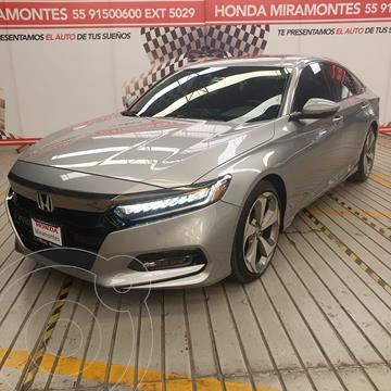Honda Accord Touring usado (2018) color Plata Diamante precio $450,000