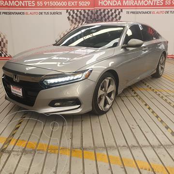 Honda Accord Touring usado (2018) color Plata Diamante financiado en mensualidades(enganche $112,500 mensualidades desde $10,410)