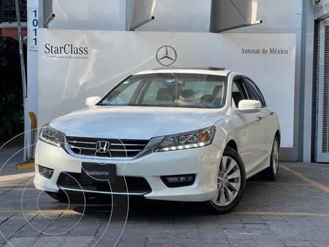 Honda Accord EX-L 3.5L V6 usado (2014) color Blanco precio $235,000
