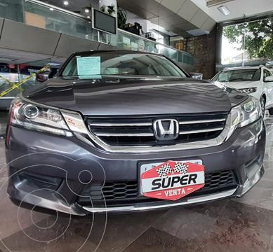 Honda Accord LX 2.4L usado (2013) color Gris precio $187,000