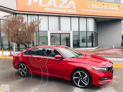 Honda Accord Sport Plus usado (2020) color Rojo precio $499,000