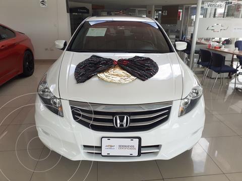 Honda Accord EX-L 3.5L V6 usado (2012) color Blanco precio $155,000