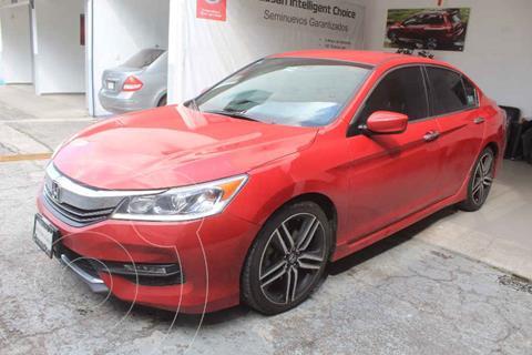 Honda Accord Sport usado (2016) color Rojo precio $285,000