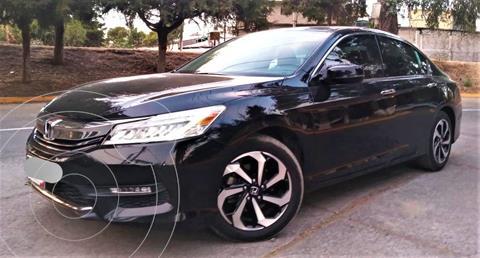 Honda Accord EX-L 3.5L V6 usado (2017) color Negro precio $336,000