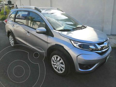 Honda BR-V Uniq usado (2018) color Plata precio $274,000