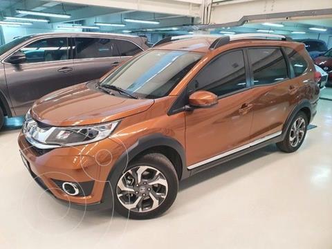 Honda BR-V Prime usado (2019) color Naranja precio $304,100