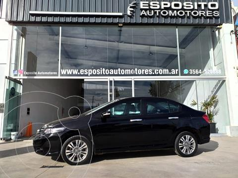Honda City EXL Aut usado (2014) color Negro precio $1.080.000