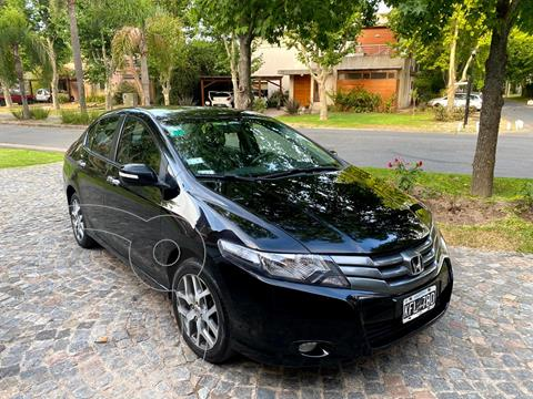 Honda City EXL usado (2011) color Negro precio $850.000