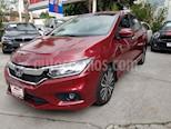 Foto venta Auto usado Honda City EX 1.5L Aut (2019) color Vino Tinto precio $276,000