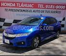 Foto venta Auto usado Honda City EX 1.5L Aut (2017) color Azul precio $235,000