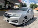 Foto venta Auto usado Honda City EX 1.5L Aut (2016) color Plata precio $208,000