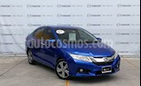 Foto venta Auto usado Honda City EX 1.5L Aut (2017) color Azul precio $229,000