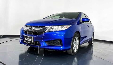 Honda City LX 1.5L Aut usado (2017) color Azul precio $202,999