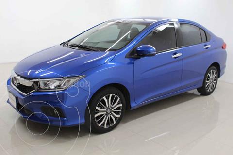 Honda City EX 1.5L Aut usado (2020) color Azul precio $289,000