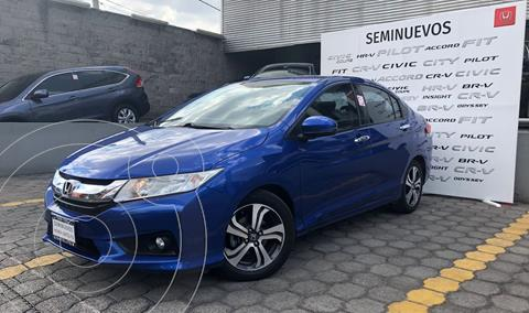 Honda City EX 1.5L Aut usado (2017) color Azul precio $215,000