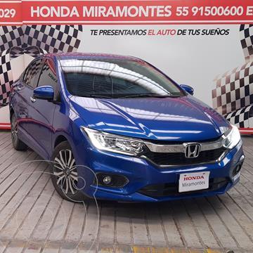 Honda City EX 1.5L Aut usado (2020) color Azul Deportivo financiado en mensualidades(enganche $71,250 mensualidades desde $5,763)