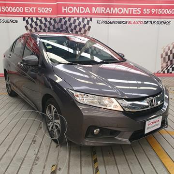 Honda City EX 1.5L Aut usado (2014) color Gris precio $200,000