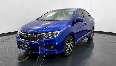Honda City EX 1.5L Aut usado (2019) color Azul precio $229,999