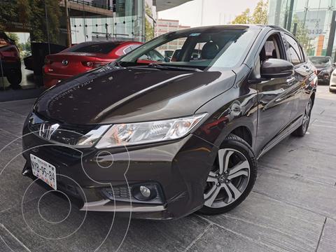 Honda City EX 1.5L Aut usado (2016) color Oro precio $205,000