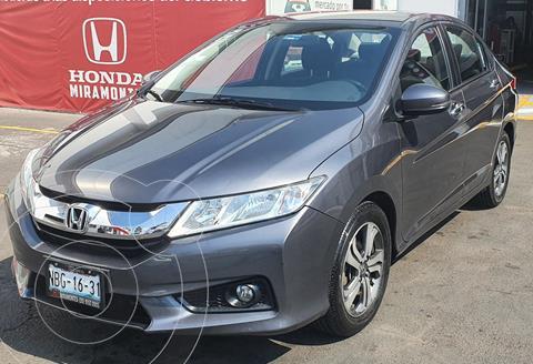 Honda City EX 1.5L Aut usado (2017) color Acero precio $220,000