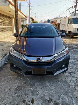 Honda City EX 1.5L Aut usado (2017) color Acero precio $210,000