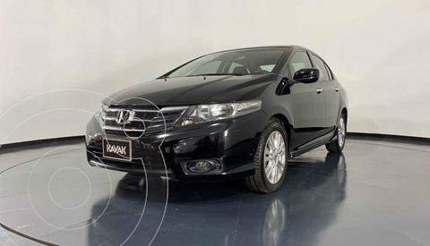 Honda City EX 1.5L Aut usado (2013) color Negro precio $157,999