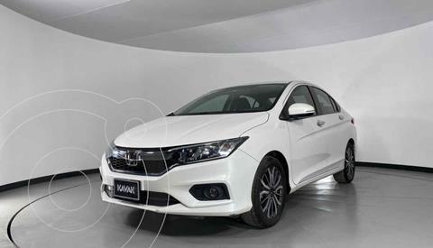Honda City EX 1.5L Aut usado (2019) color Blanco precio $244,999