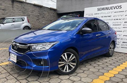 Honda City EX 1.5L usado (2018) color Azul precio $229,000