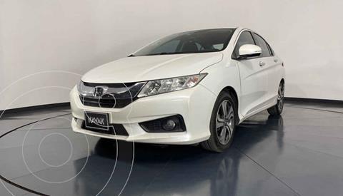 Honda City EX 1.5L Aut usado (2016) color Blanco precio $199,999