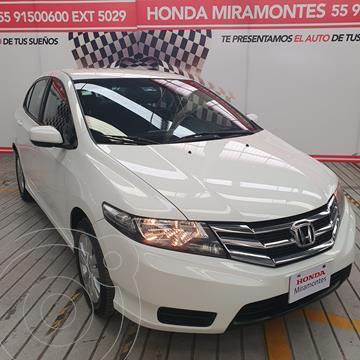 Honda City LX 1.5L Aut usado (2013) color Blanco financiado en mensualidades(enganche $87,500 mensualidades desde $8,266)