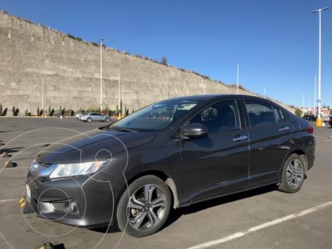 Honda City EX 1.5L Aut usado (2017) color Acero precio $190,000