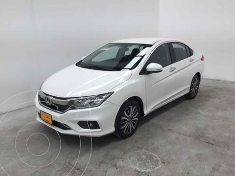 Honda City EX 1.5L Aut usado (2020) color Blanco precio $302,000