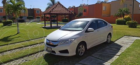 Honda City LX 1.5L Aut usado (2017) color Blanco Marfil precio $183,000