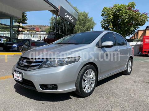 Honda City EX 1.5L Aut usado (2013) color Plata precio $140,000