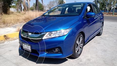 Honda City EX 1.5L usado (2017) color Azul Acero precio $199,000