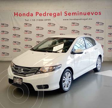 Honda City EX 1.5L Aut usado (2012) color Blanco precio $147,000