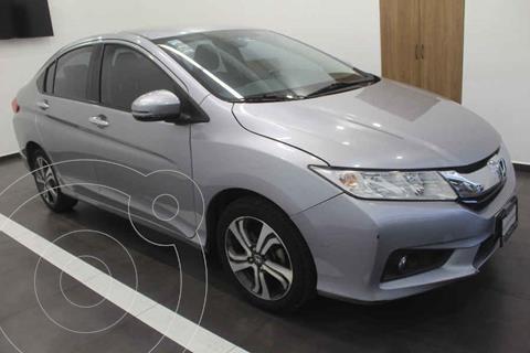Honda City EX 1.5L Aut usado (2017) color Plata precio $229,000