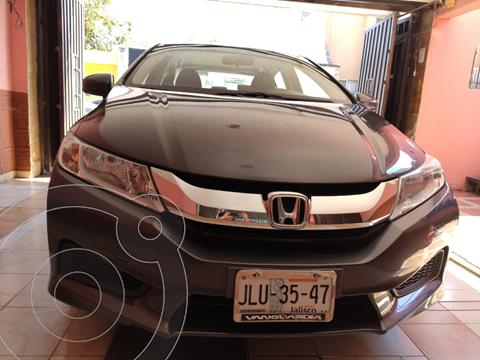 Honda City LX 1.5L usado (2014) color Plata precio $140,000
