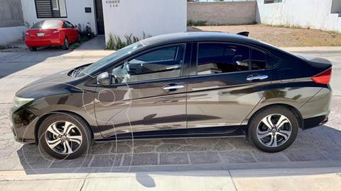 Honda City EX 1.5L Aut usado (2015) color Oro precio $165,000