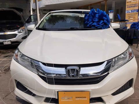 Honda City LX 1.5L usado (2017) color Blanco precio $179,500