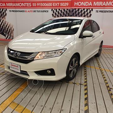 Honda City EX 1.5L Aut usado (2017) color Blanco financiado en mensualidades(enganche $56,250 mensualidades desde $5,135,000)
